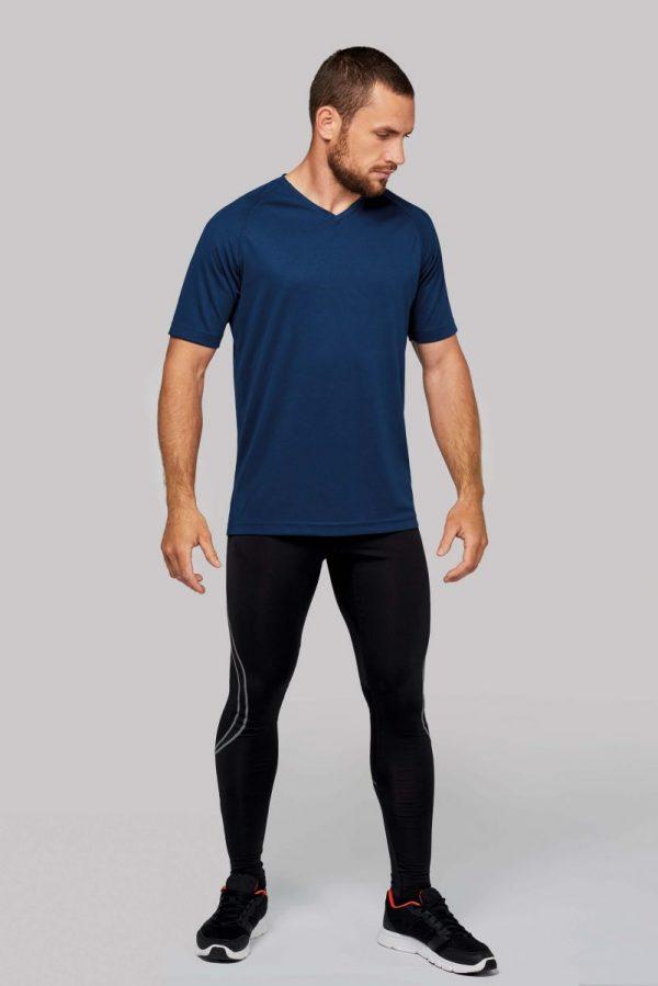 Sportshirt Ontwerpen Heren Blauw Shirt