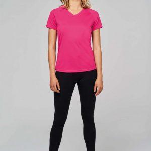 sportshirt ontwerpen dame roze