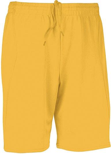 voetbalbroekje geel
