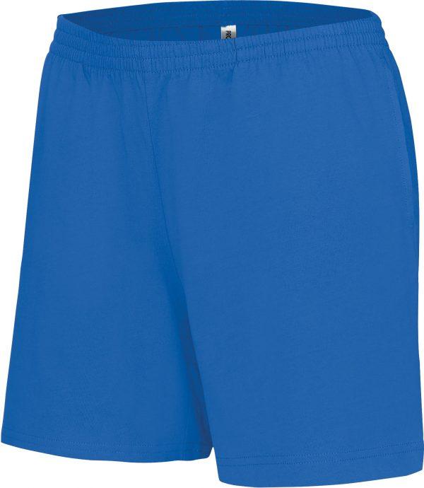 blauw sportbroekje