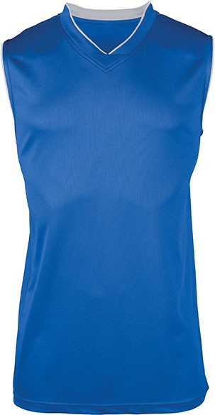 basketbal top blauw